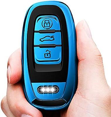 Amazon.com: Tukeller - Funda para llave de Audi, especial ...