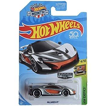 Zamac Version 2018 Hot Wheels HW EXOTICS 4//10 Mclaren P1 HW Month Card