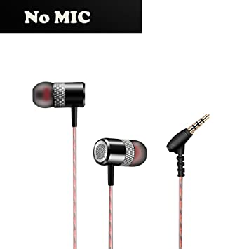Winwintom 1Pc 3.5Mm Auriculares In-Ear Sonido EstéReo,Smartphones Bq Aquaris, iPhone