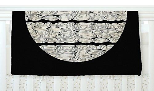 KESS InHouse Pom Graphic Design La Luna Nature Illustration Fleece Baby Blanket 40 x 30 [並行輸入品]   B077Z241XX