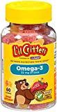 gummy fish omega 3 - L'il Critters Omega-3 Vitamin Gummy Fish, 60 Count (Pack of 3)