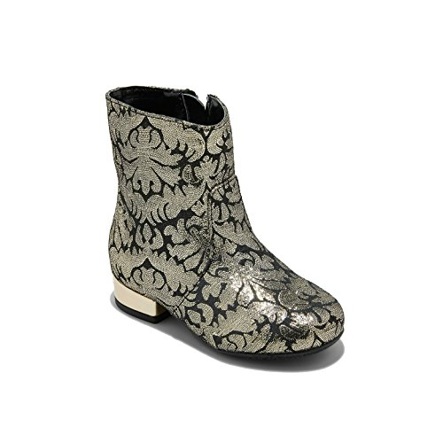 Genuine Kids Toddler Girls' Fashion Dress up Boots Boots - Silver - Size 7 -