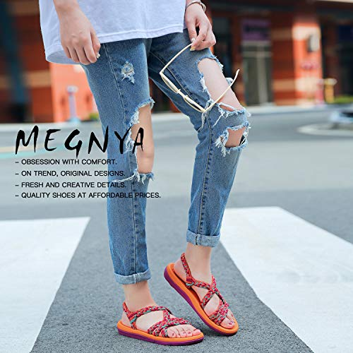 956778d3b75a2 QLEYO Women's Comfortable Flat Walking Sandals with Arch Support Waterproof  for Walking/Hiking/Travel/Wedding/Water Spot/Beach.18ZDKDQL01-W2-7 BD ...