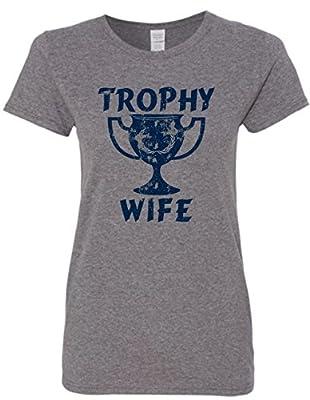 Trophy Wife, Husband, Mom Funny T-Shirt