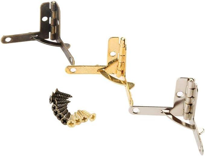 Flügel Deckelband Scharnier  Messing 45 x 25 90 mm