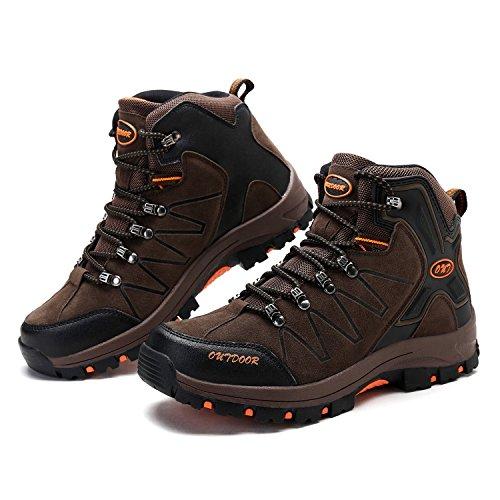 Scarpe Calzature Sportive marrone Da All'aperto 4 Escursionismo Arrampicata Uomo Sneakers qESEar