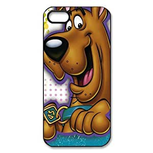 Lovely Cartoon Scooby Doo Plastic Protective Case Slim Fit for iPhone 5 5S