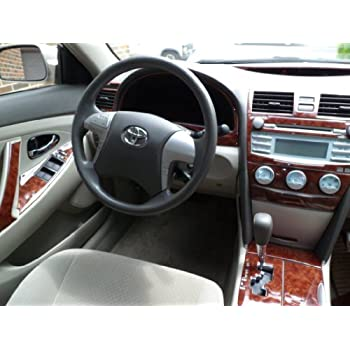 toyota camry interior burl wood dash trim kit. Black Bedroom Furniture Sets. Home Design Ideas