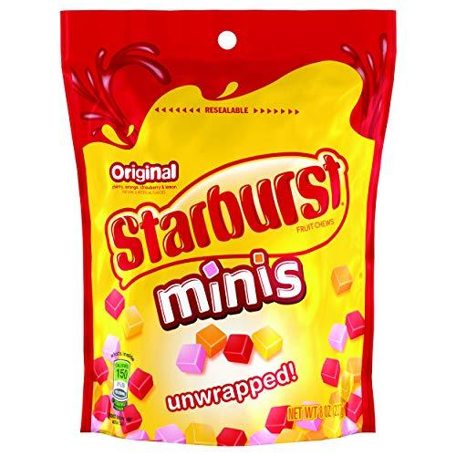 Starburst Original Minis Fruit Chews Candy, 8 ounce (8 Bags) (Wholesale Price Kilim Bag)