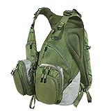 SF Super Light Fly Fishing Mesh Vest / Back Pack Adjustable Size (Fly Back Pack)