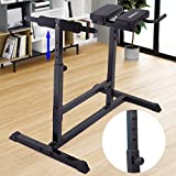 JAXPETY New Hyperextension Bench Roman Chair Sit Up Exercise AB Home Back Workout Gym