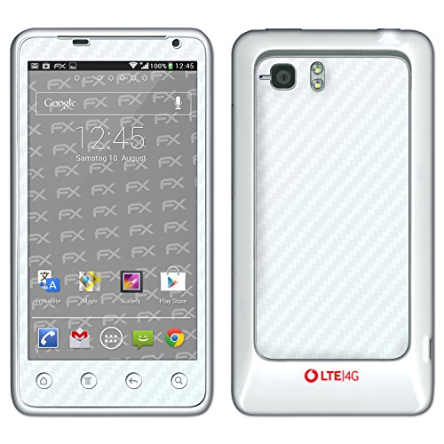 """HTC Velocity 4G Skin """"FX-Carbon-Bicolor-Pearl"""" Sticker Decal for Velocity 4G"""