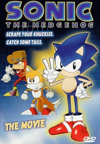 Sonic The Hedgehog - The Movie [DVD] by Martin Burke B01I05QRVC