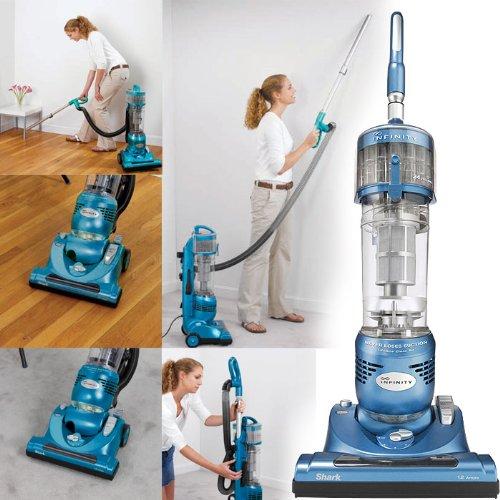 - Euro-Pro Shark NV31 Infinity Upright Vacuum, Blue (Renewed)
