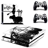 CloudSmart PS4 Designer Skin Decal for PlayStation 4 Console System and PS4 Wireless Dualshock Controller - Kingdom Heirs from CloudSmart
