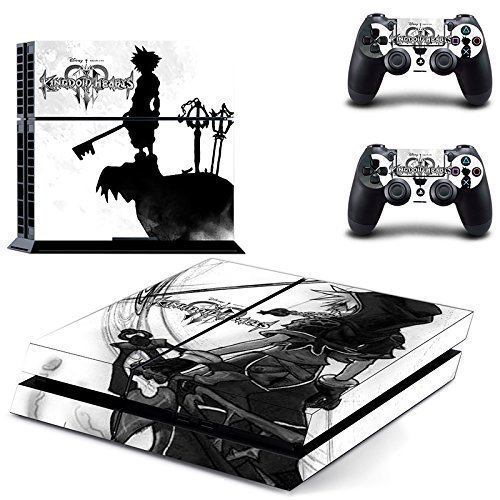 Cheap CloudSmart PS4 Designer Skin Decal for PlayStation 4 Console System and PS4 Wireless Dualshock Controller – Kingdom Heirs