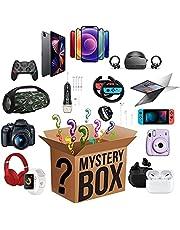 Mystery Box, Surprise Box (contém 2 produtos), Mystery Box Electronics Random, Lucky Box contém centenas de produtos e presentes inesperados, há uma chance de abrir: como drones, relógios inteligentes