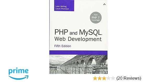 Php and mysql web development 5th edition developers library php and mysql web development 5th edition developers library luke welling laura thomson 9780321833891 amazon books fandeluxe Gallery