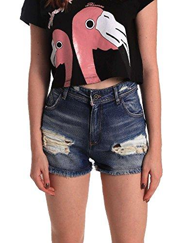 Shorts Shorts Fornarina Be171l57d876jo Donna Fornarina Be171l57d876jo Blu z8gqdz