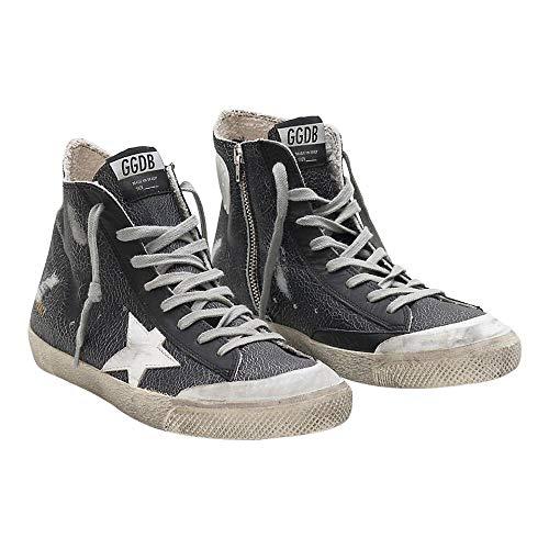 Golden-Goose-Deluxe-Brand-Francy-Mens-Sneakers-in-Black