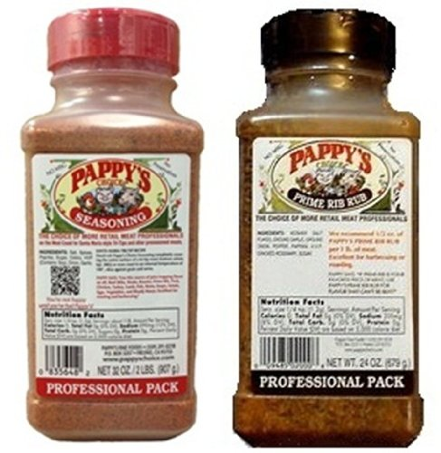 Pappy's Choice Seasoning 32-oz Pro Pack and Pappy's Choice Prime Rib Rub 24-oz