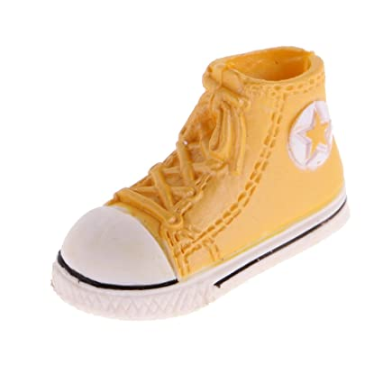 1d66971f96130 Amazon.com: MagiDeal 1.6'' Plastic Doll Lace up Canvas Shoes ...