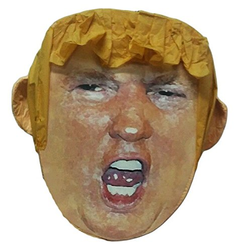 (Pinatas Mr. President Donald Trump Pinata, Parody for Beating, Larger Than Life Head (17Inch))