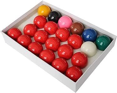 WXS Bolas de Billar, Resina 2 1/16 Pulgadas Bolas de Mesa de ...