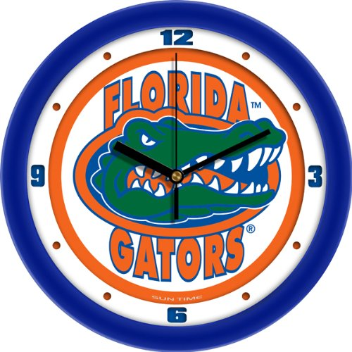 NCAA Florida Gators Wall Clock, Traditional, One Size