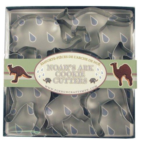 UPC 030734036563, Fox Run Noah's Ark Cookie Cutter Set