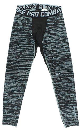 Nike Pro Combat Hyperwarm Compression Pants Magnet grigio Large