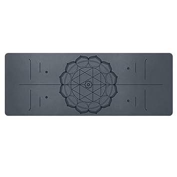 Ejercicio Premium Yoga Mat Caucho Natural 6mm Grueso ...