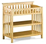 Atlantic Furniture Columbia Knock Down Changing Table, Natural Maple, Baby & Kids Zone
