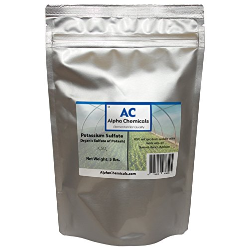 5 Pounds - Potassium Sulfate - Sulfate of Potash