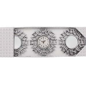bulkl buys Oriental Wall Decor Set with Mirror & Clock ...
