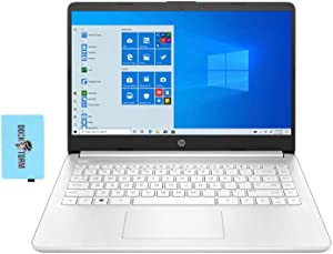 "HP 14z Home and Business Laptop Google Classroom and Zoom Compatible (AMD 3020e 2-Core, 8GB RAM, 128GB SATA SSD, AMD Radeon Graphics, 14.0"" HD (1366x768), WiFi, Bluetooth, Webcam, Win 10 Home) w/Hub"