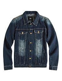 ZSHOW Men's Casual Denim Jacket Bomber Jacket