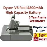 Timetech 4800mAh Battery for Dyson Absolute V6 DC58 DC59 DC61 DC62 D72 DC74 BC683 Aussie