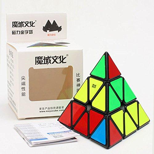 HelloCube MoYu Magnetic Pyraminx Cube Black Speed Cube