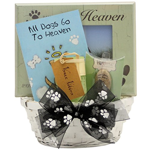GreatArrivals Forever Loved Pet Dog Sympathy Gift Basket, 3 Pound