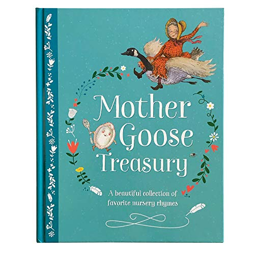Mother Goose Treasury: A Beautiful Collection of Favorite Nursery Rhymes from Cottage Door Press