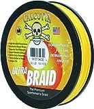 Cheap Calcutta Ultra 150 Yards Braid Line (80-Pounds, Yellow)