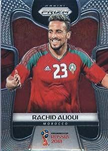2018 Panini Prizm FIFA World Cup Soccer Trading Card #254 Rachid Alioui Morocco