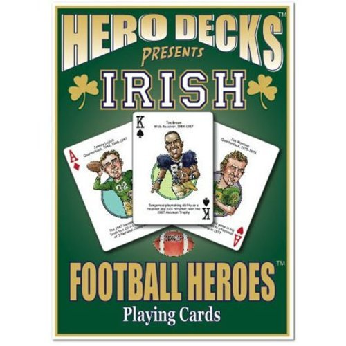 Dame Notre Game - Hero Decks - Notre Dame - Playing Cards