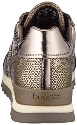 metallizzato Bugatti Marrone Taupe 422276015050 Donna Pantofole Da wAqpB6SA