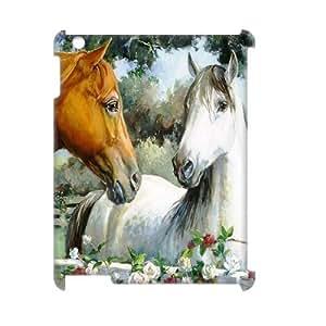 GGMMXO Horse Shell Phone Case For IPad 2,3,4 [Pattern-1]