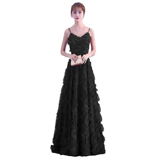dce0197473 NIAIS Vestidos De Fiesta Largos Y Largos para Dama De Honor De Una Línea  Elegante con