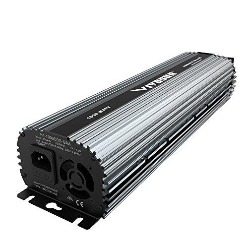 VIVOSUN 1000 Watt UL listed Dimmable Electronic Digital Ballast for MH HPS Grow Light Bulb Lamp (750w Light)