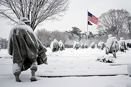 18 x 24 Art Canvas Print of Korean War Memorial Washington D.C. r49 2006 February 12 by Highsmith, Carol M. (War Memorial The Korean)