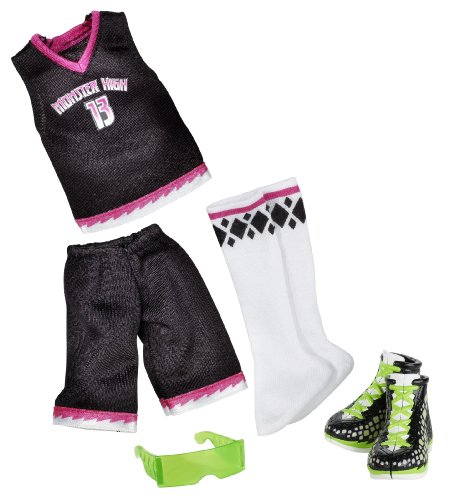 Monster High School Spirit Scream Uniforms Deuce Gorgon Fashion Pack